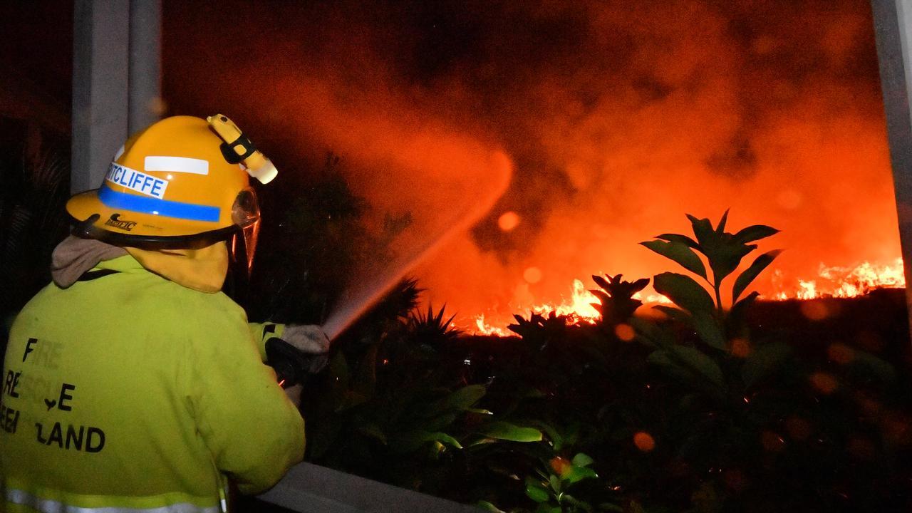 Fires tore through the Peregian region last year. Photo: John McCutcheon