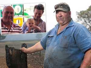 Farmer's dad, brother killed in 'tornado of fireballs'
