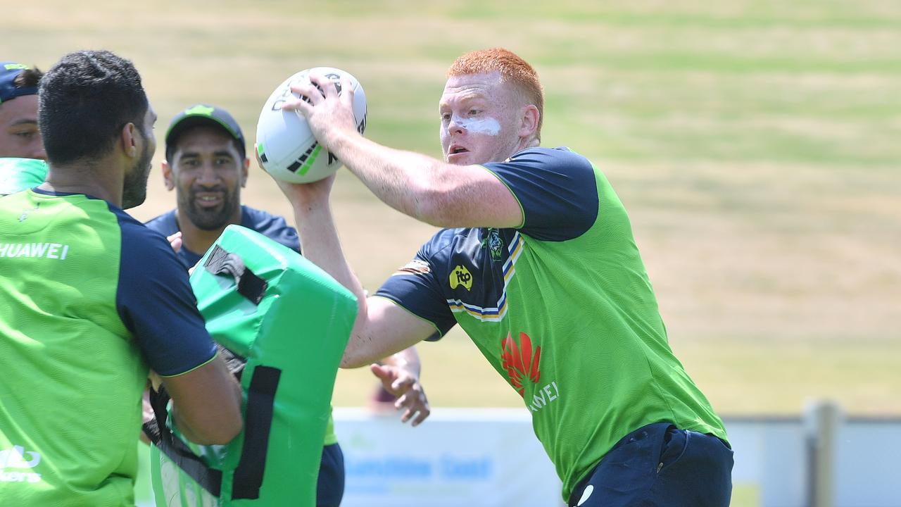 Coast product and Canberra Raiders talent Corey Horsburgh. Photo: John McCutcheon / Sunshine Coast Daily