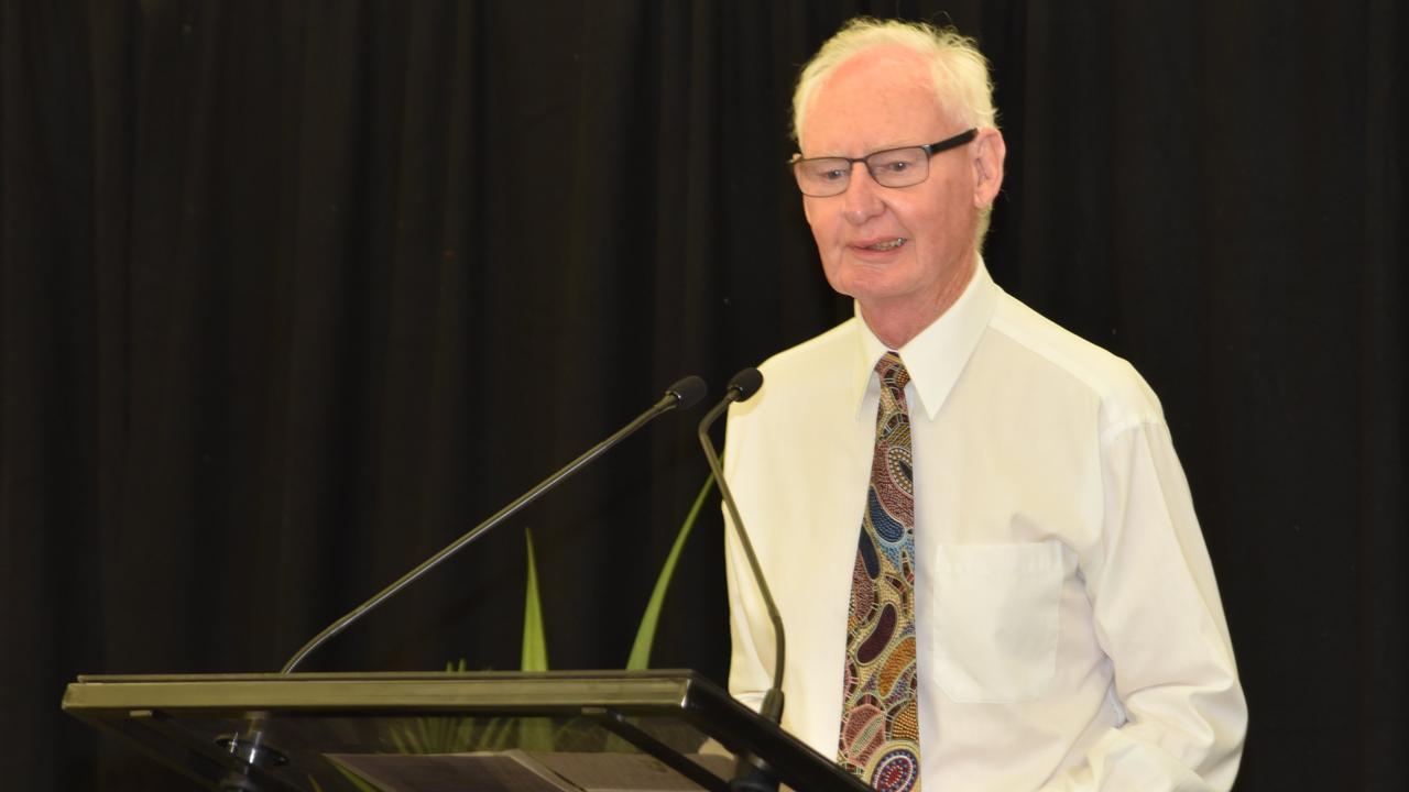 Original CQUniversity Vice Chancellor Geoff Wilson has passed away.