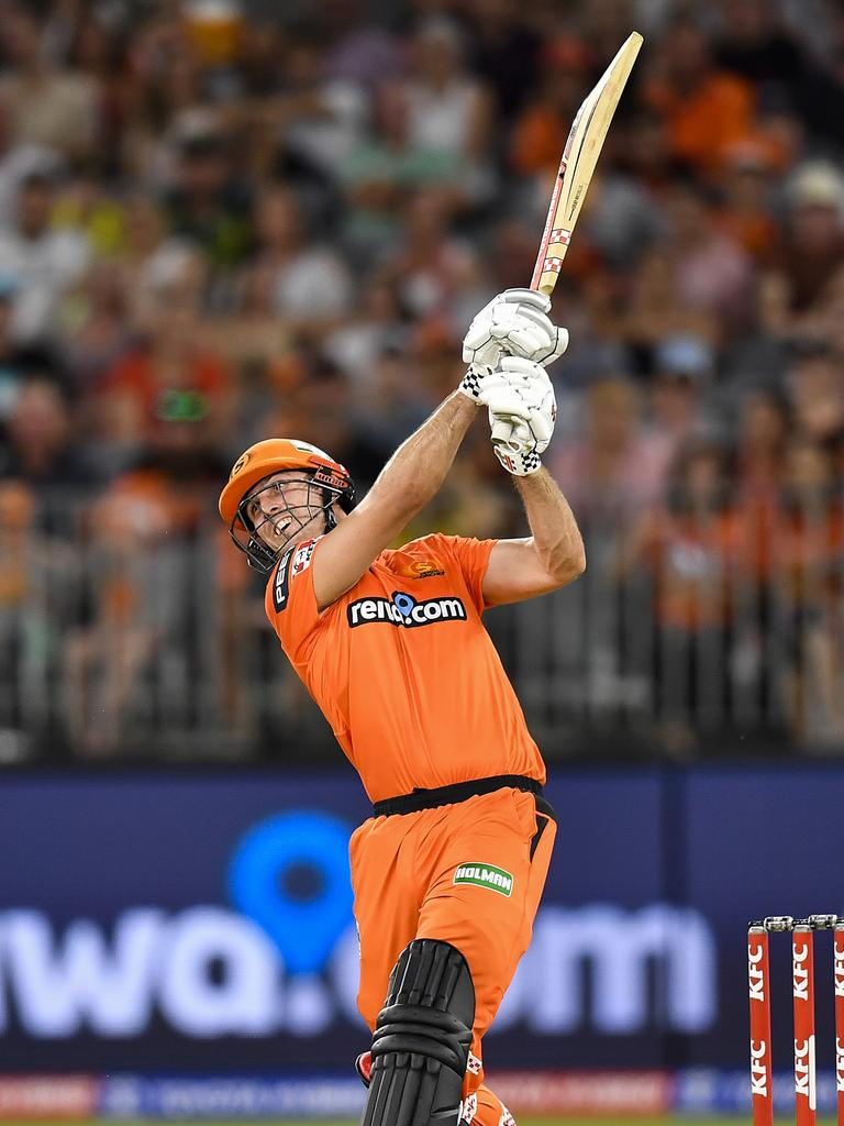 Mitch Marsh led from the front for the Scorchers. Picture: Getty Images