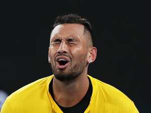 Kyrgios' sad admission after brutal loss