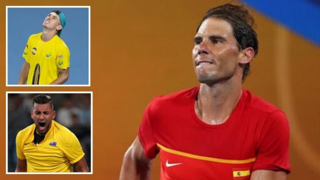 Rafa, Spain were too good for The Demon and King Kyrgios.