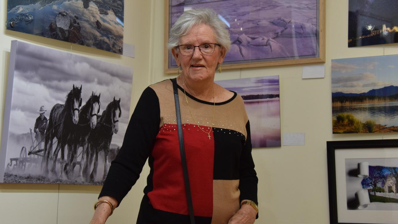 NEW EXHIBITIONS: Wondai Regional Art Gallery president Elaine Madill is looking forward to welcoming guests to the gallery's upcoming opening night. Picture: File