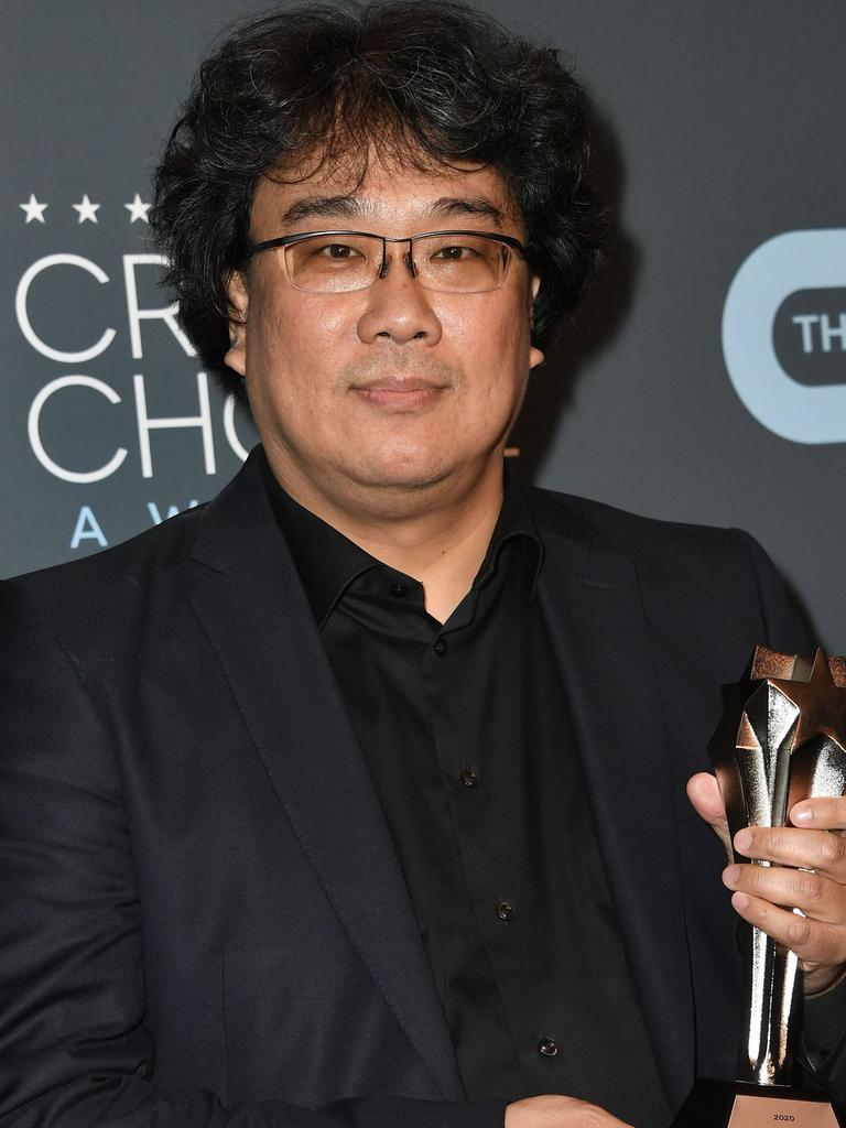 Parasite director Bong Joon-ho. Picture: Getty Images