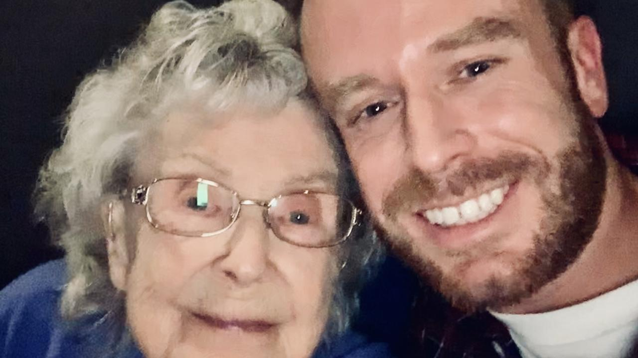 Gary Nunn's nan was his second mum and best friend. Picture: supplied