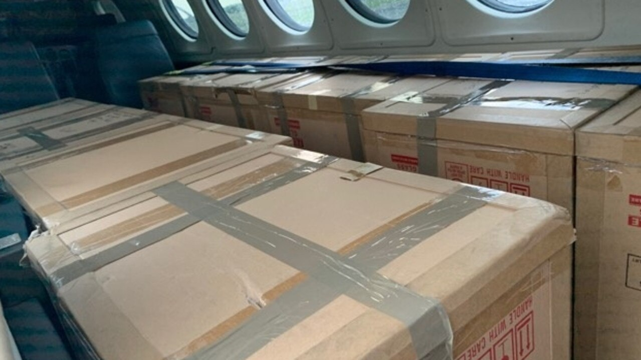 McDermott Aviation Group fixed wing company Machjet took medical supplies from Cairns to New South Wales to help fire-affected wildlife.