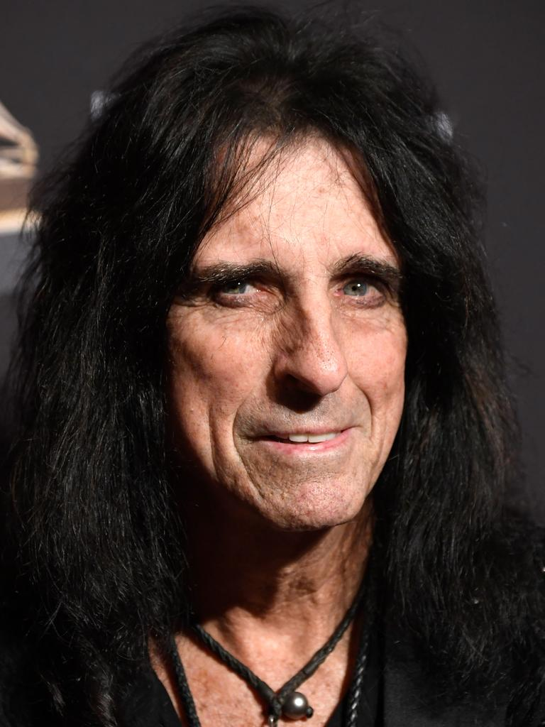 Alice Cooper is a chldhood hero of the Duk. Picture: Frazer Harrison/Getty Images