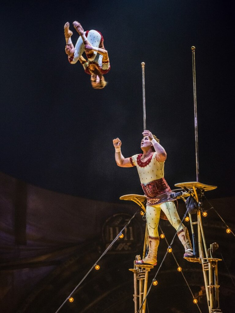 CIRCUS: At Cirque du Soleil's Kurios, the performers takes audiences to a different world, where gravity and danger are more relative than ever.