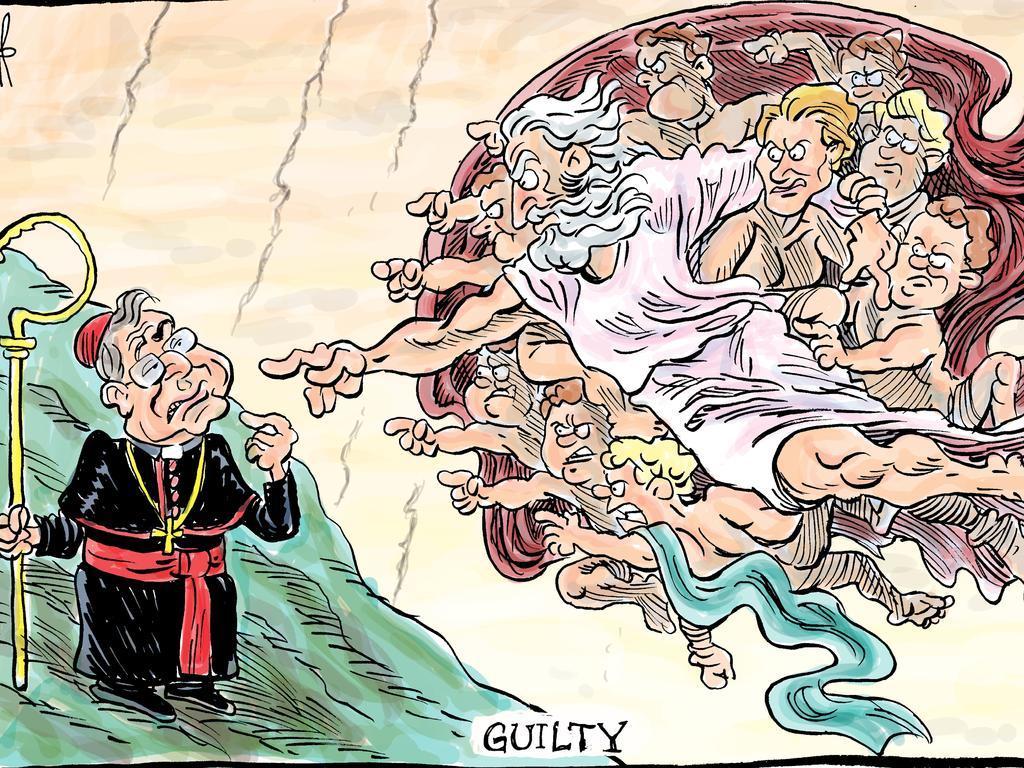 Harry Bruce's cartoon for the Daily Mercury for February 26 2019.