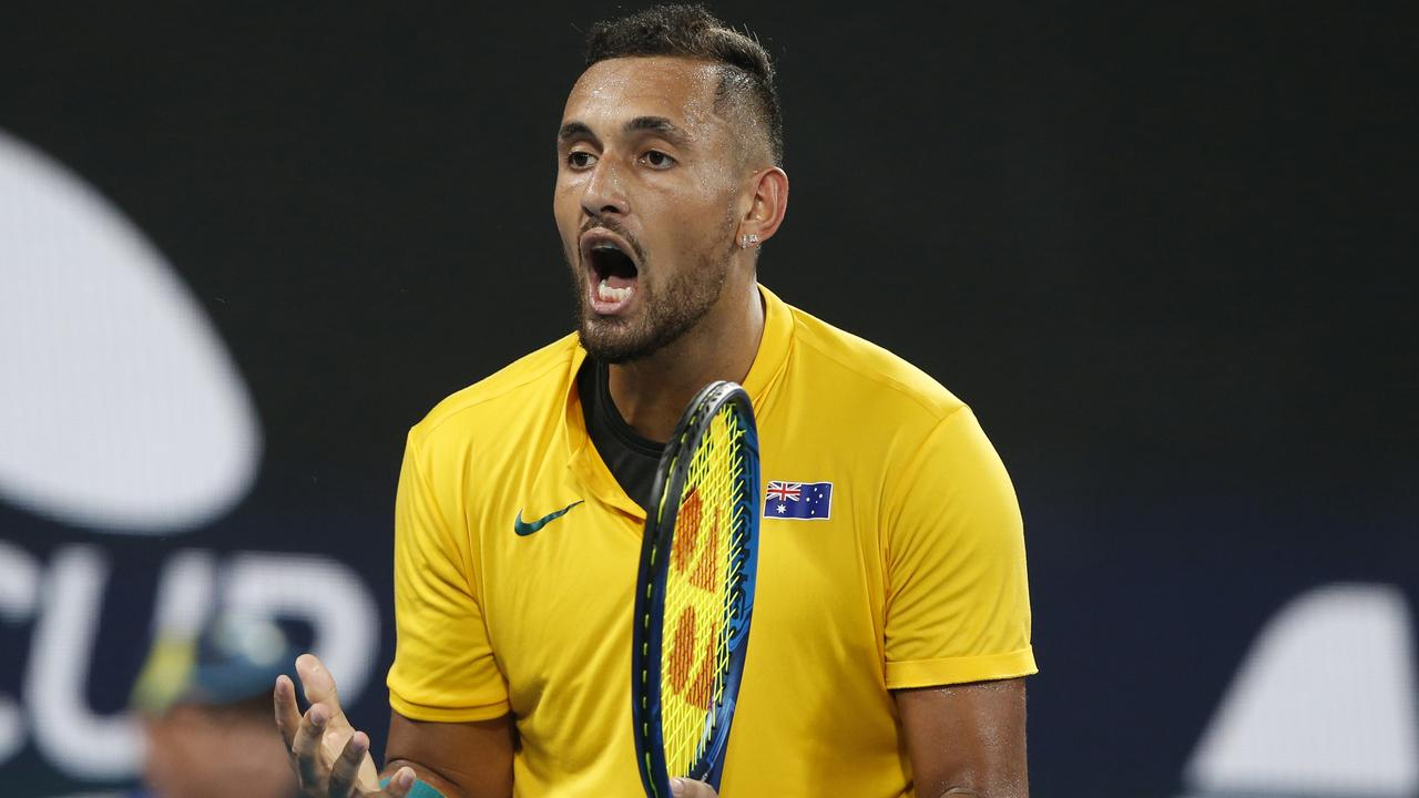 Roger Federer has pinpointed where Nick Kyrgios needs to improve.