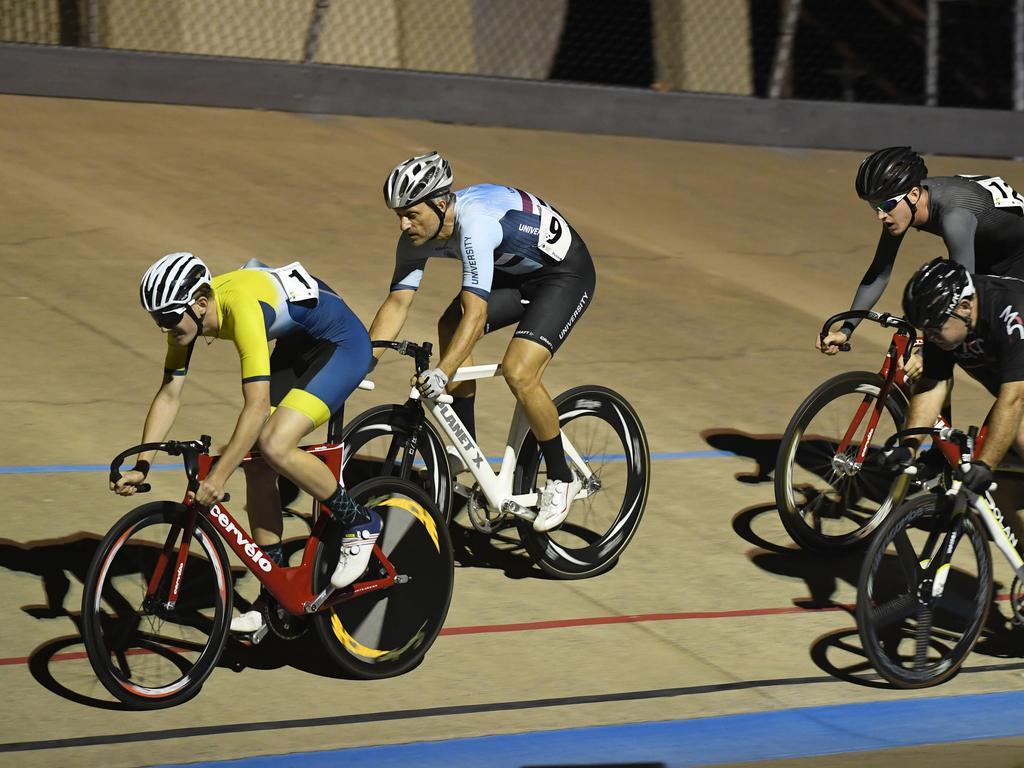 CYCLING: Bundaberg's Duncan Allen, Uni of Qld's John Hickson, Bundaberg's Austin Allen and Mackay's Todd Taylor