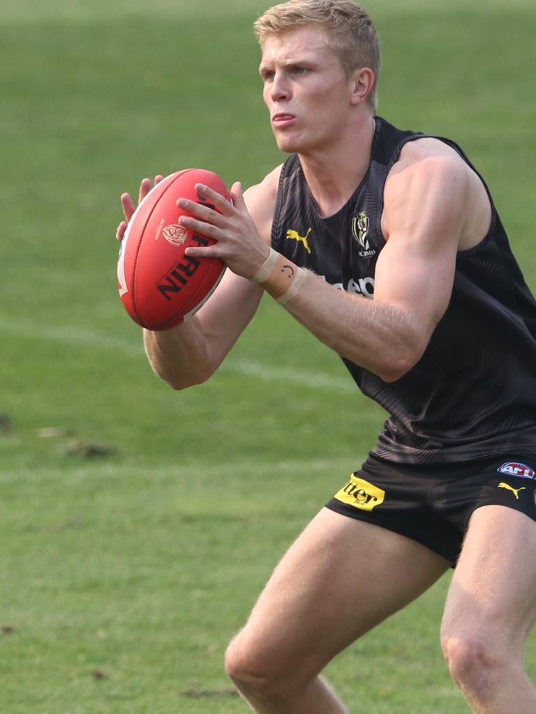 Ryan Garthwaite might take a key defensive role this year. Pic: AAP