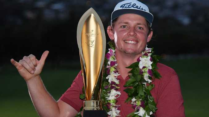 Smith's stunning PGA breakthrough