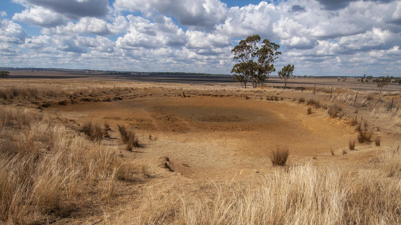 DRY TIMES: Southern Downs dams have reached their limit. Picture: David Martinelli.
