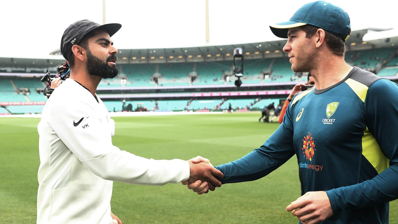 Indian captain Virat Kohli says his team will take up Australian captain Tim Paine's invitation for a pink ball Test. Picture. Phil Hillyard
