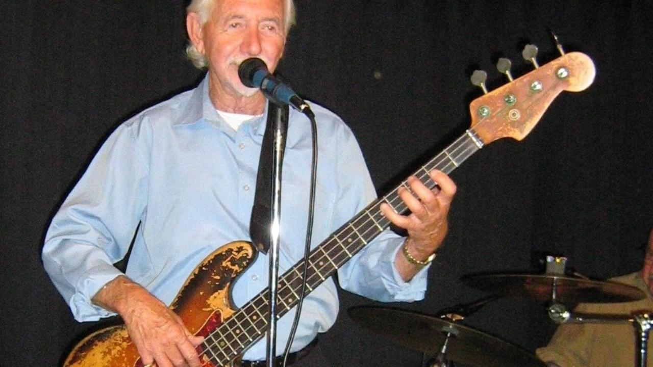 Michael Lawler had his bass guitar collection stolen. Picture: Facebook.