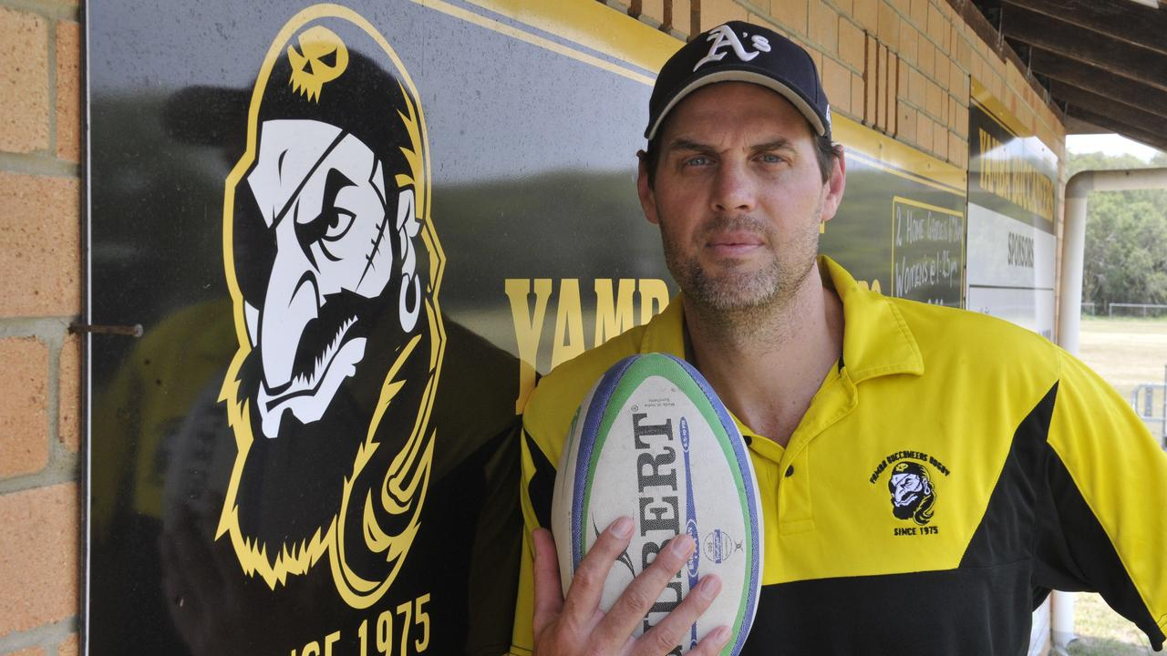 BUCCANEER BACK: Adrian Miller returns to the role of head coach at the Yamba Buccaneers for the 2020 season. Photo: Mitchell Keenan