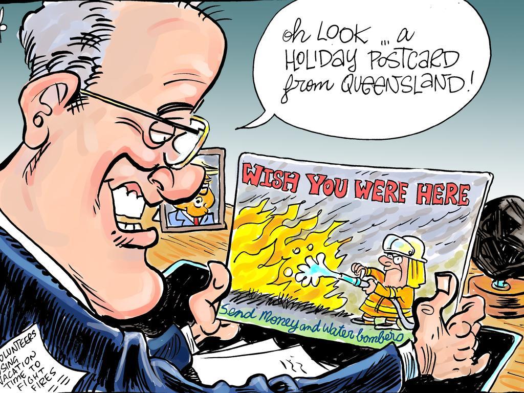 Harry Bruce's cartoon for the Daily Mercury for November 15 2019.