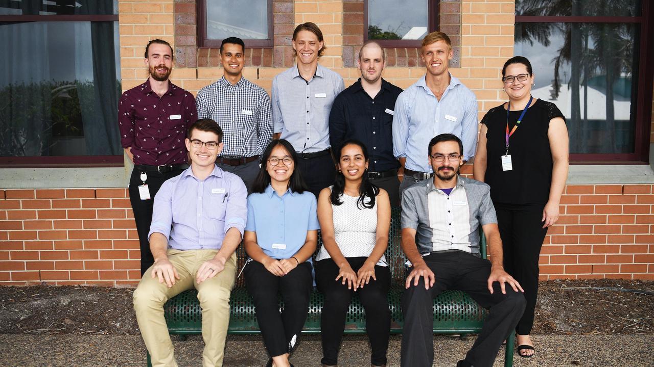 Intern Doctors – Current interns at Hervey Bay Hospital. Photo: Cody Fox