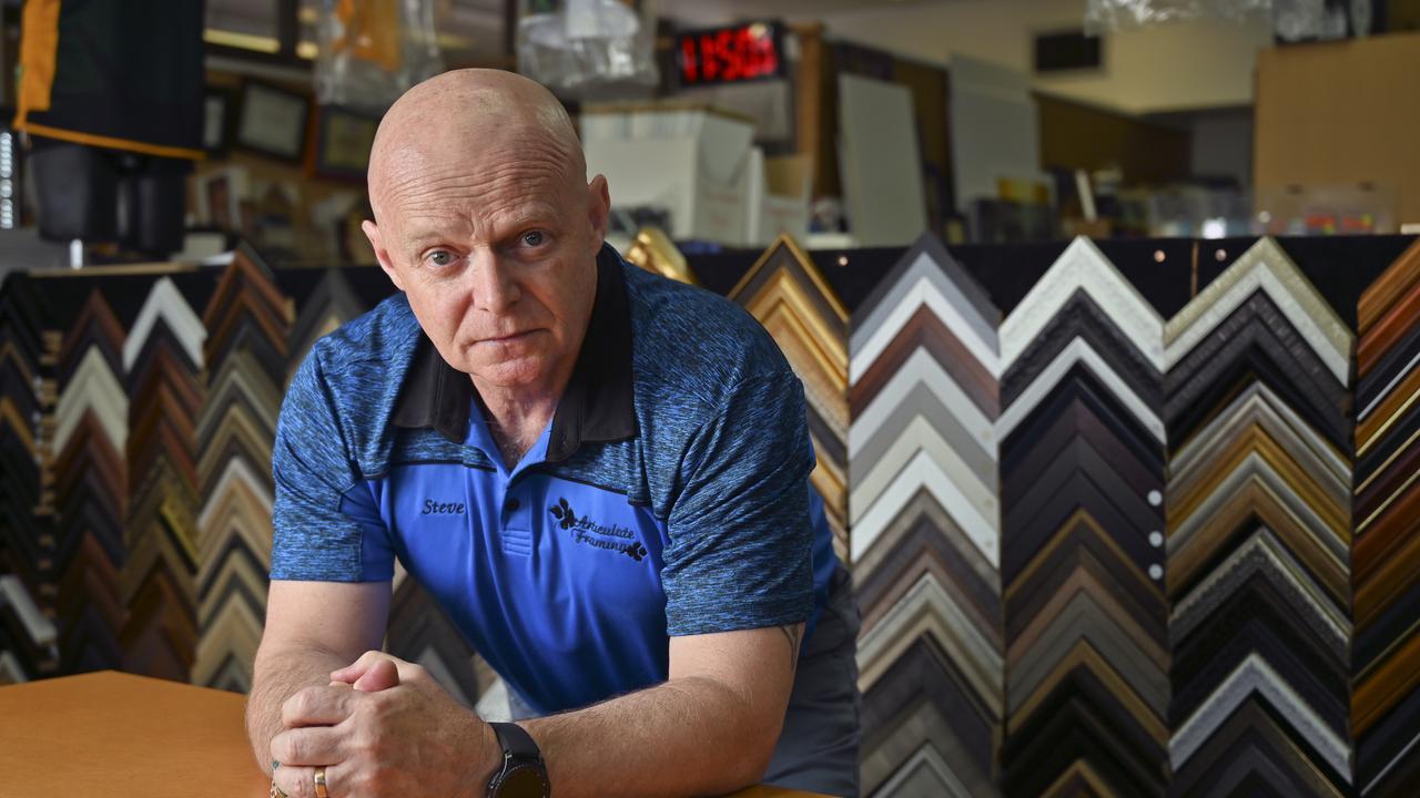 Steve Rainbow, owner of Articulate Framing.