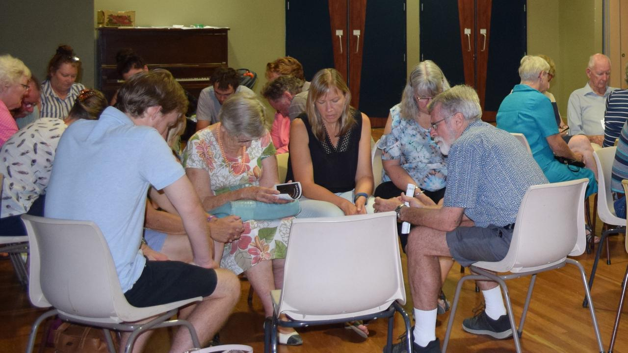 UNITED: The Local churches from around Chinchilla gathered on Friday night to pray for the recent bushfires and drought.