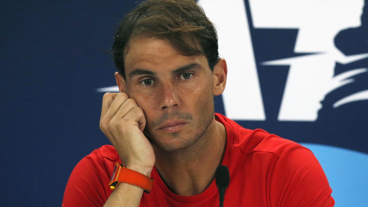 Rafael Nadal. (AP Photo/Steve Christo)