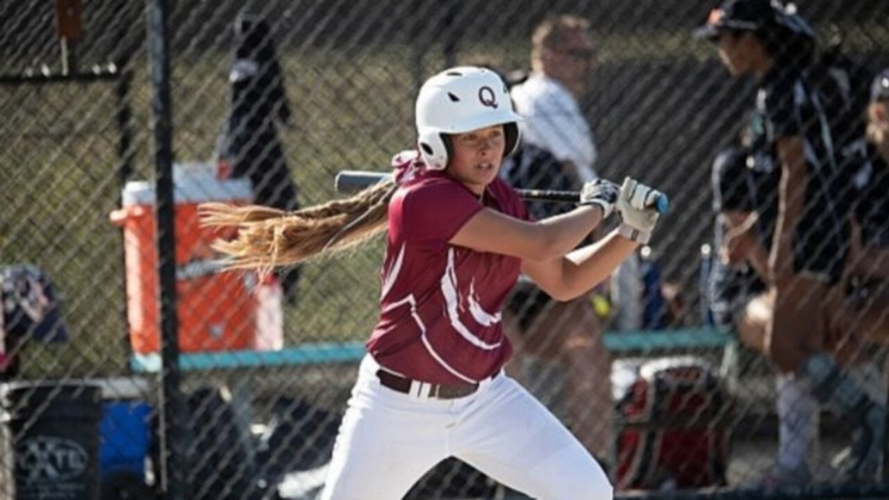 Tarah Staines represents Queensland in the national U16 competition in Victoria.