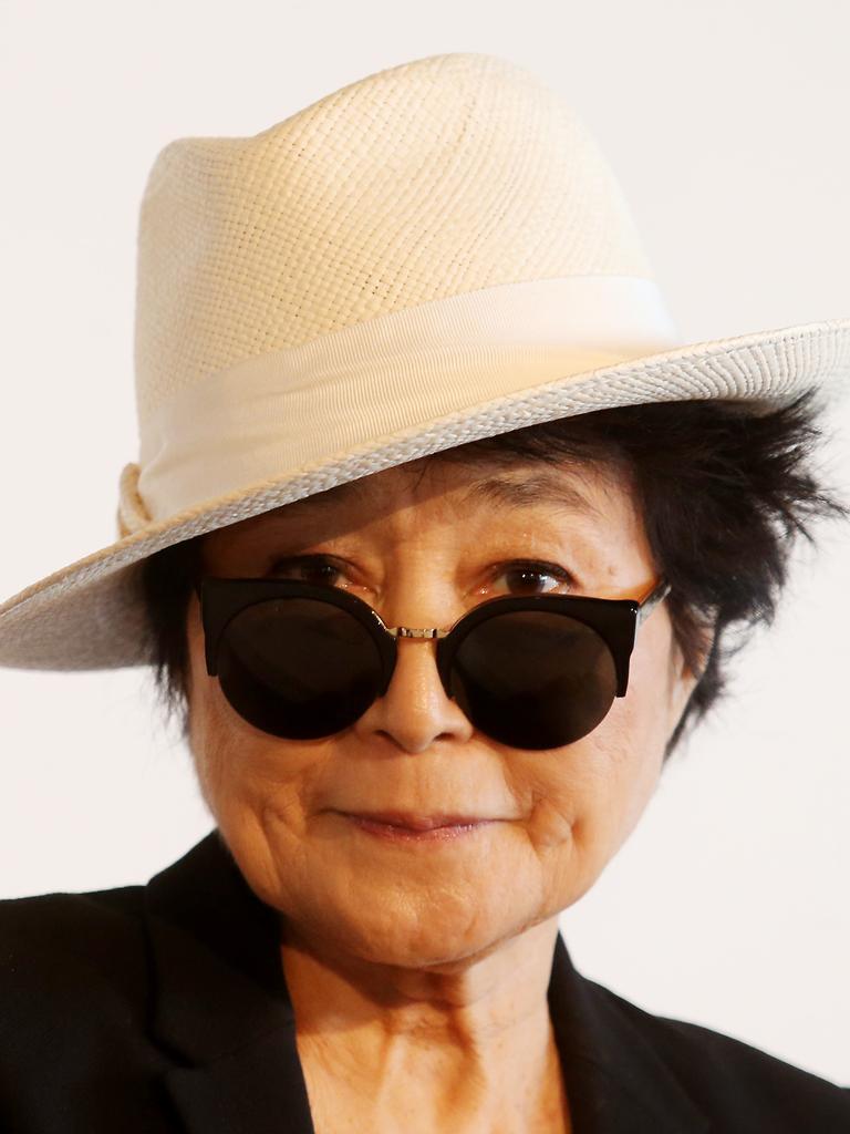 Yoko Ono. Picture: Renee Nowytarger / News Corp Australia