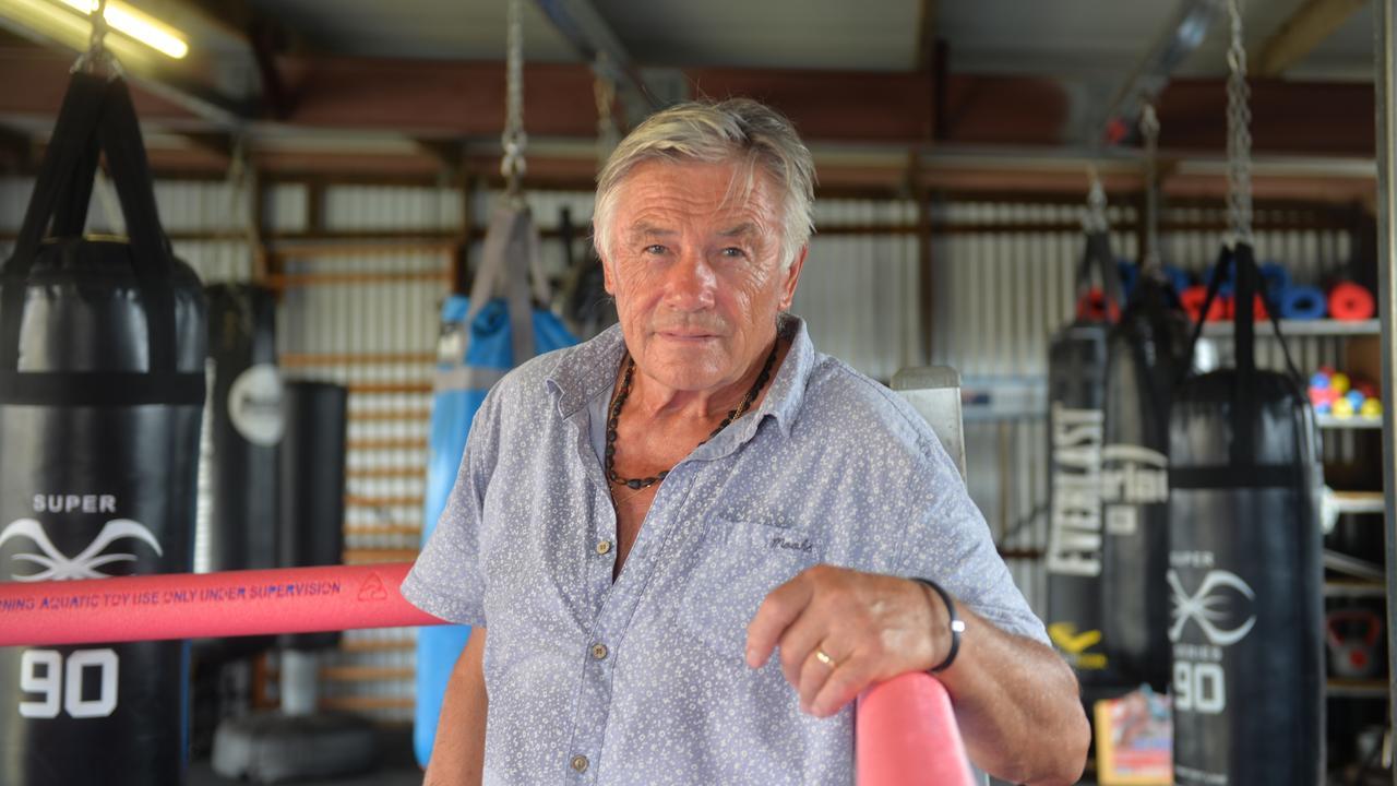 Attila Kovacs in his new boxing gym.