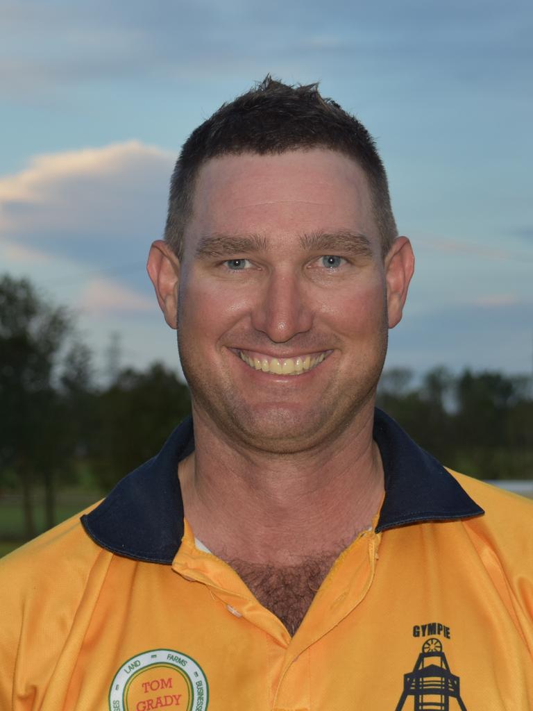 Gympie Gold - Steve Brady, wicketkeeper and opening batsman.