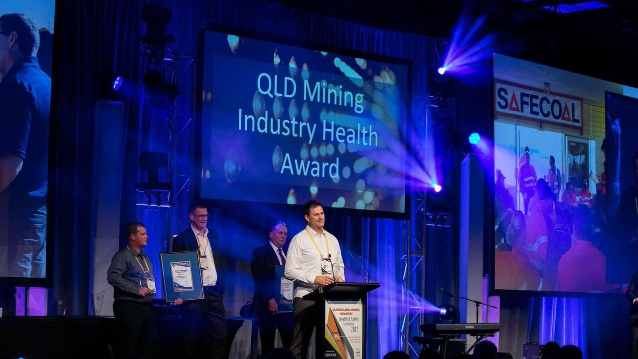 Last year's Queensland Mining Industry Health And Safety awards. Picture: Contributed