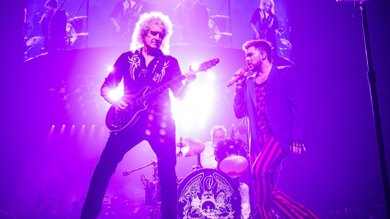 Queen + Adam Lambert are the headline act. Picture: Bojan Hohnjec