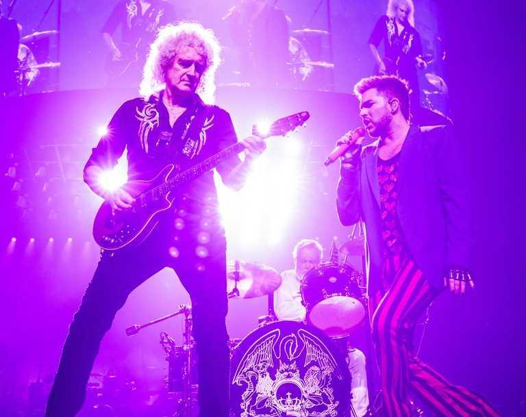 Queen + Adam Lambert are the headline act. Picture: Bojan Hohnjec