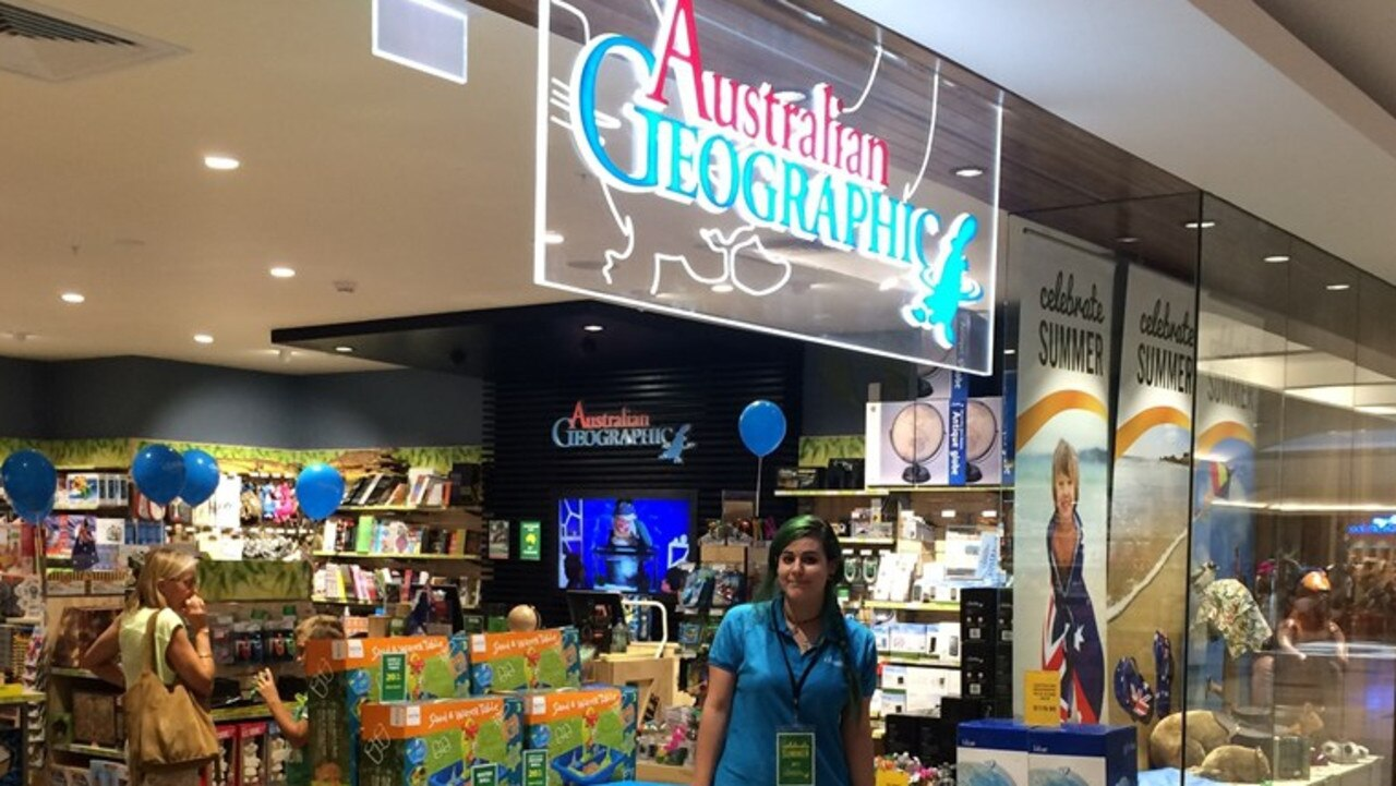 Sixty-three Curious Planet – previously known as Australian Geographic – stores are set to shut down.