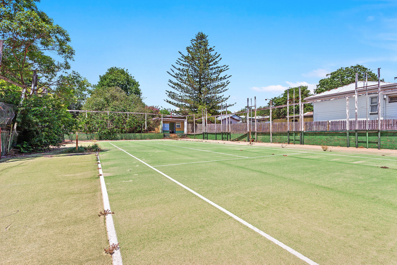 Toowoomba tennis legend Marj Dighton's family home on Seaton St in South Toowoomba will go to auction next month.