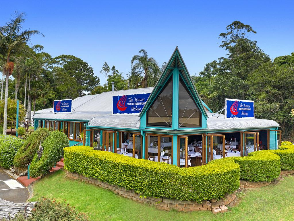 Iconic Sunshine Coast hinterland business the Terrace Seafood Restaurant is on the market for $1.25 million. Photo: Contributed