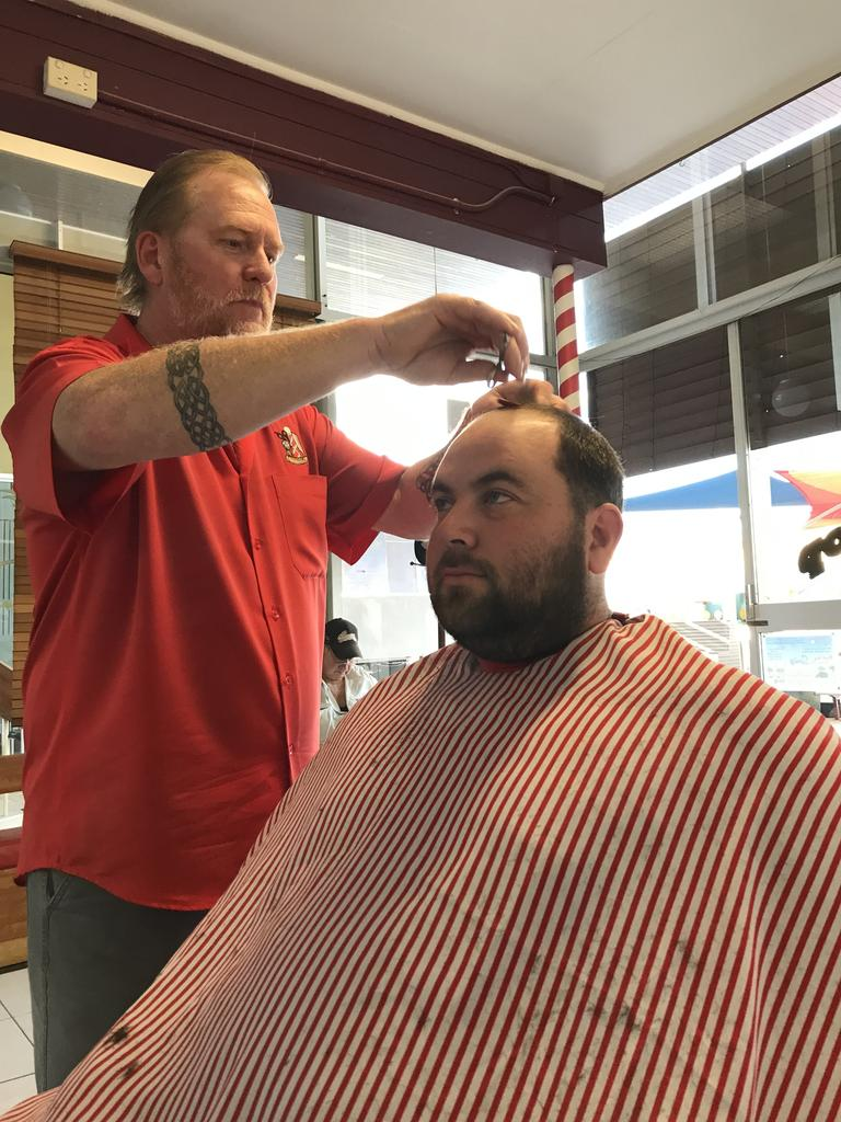 FINGERS CROSSED: Steve Bates from Steve's Barber Shop is hopeful that a new look council may drive some economic development in the shire.