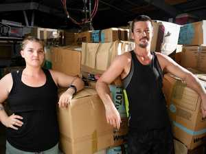 Bushfire relief donations and medical supplies stolen