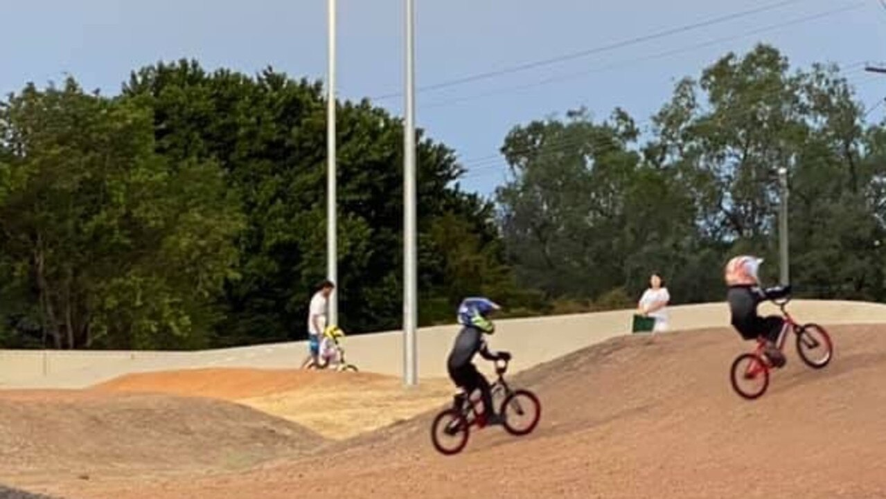 RIDING HIGH: Nate Hazlewood, and his brother Bane Hazlewood in action.