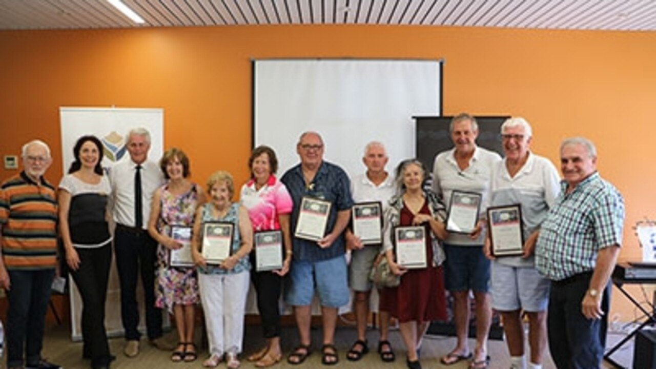 NSW Seniors Local Achievement Awards winners at the 2019 Tweed Seniors Festival.