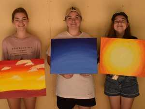 Painting African sunsets