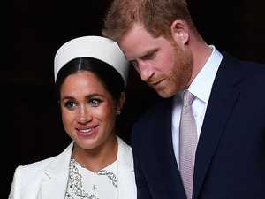 Queen gives blessing for Prince Harry, Meghan to step down