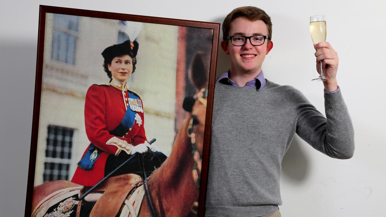 Wilson Gavin, 21, was a member of the Queensland Young Monarchists League. Picture: AAP