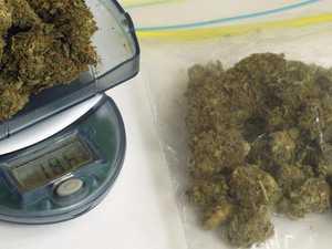 2.8kg marijuana, stun gun and $17k cash sinks dealer