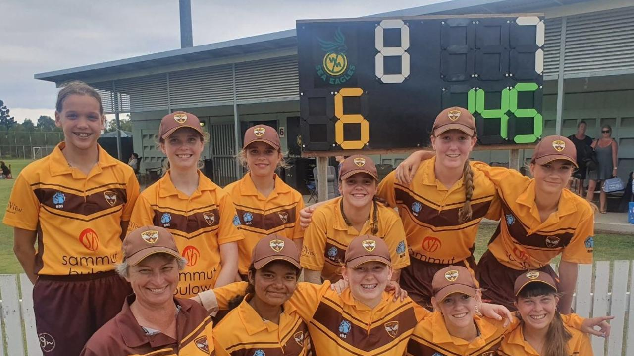 EMPHATIC: Ipswich Logan's under-15 women's outfit blew Wynnum off the park to cap a memorable Paul Pink Shield season.