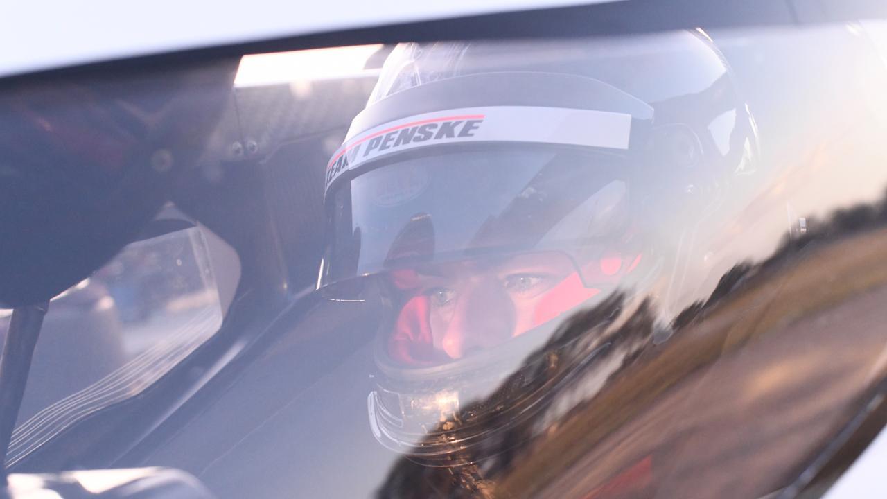 Driving an IndyCar was a dream come true for McLaughlin.