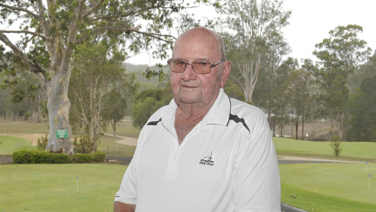 LIFE MEMBER: Warren Moss has brought up 65 years of membership with the Grafton District Golf Club.