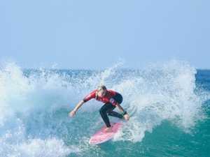 'Nothing is going to stop me surfing my best'