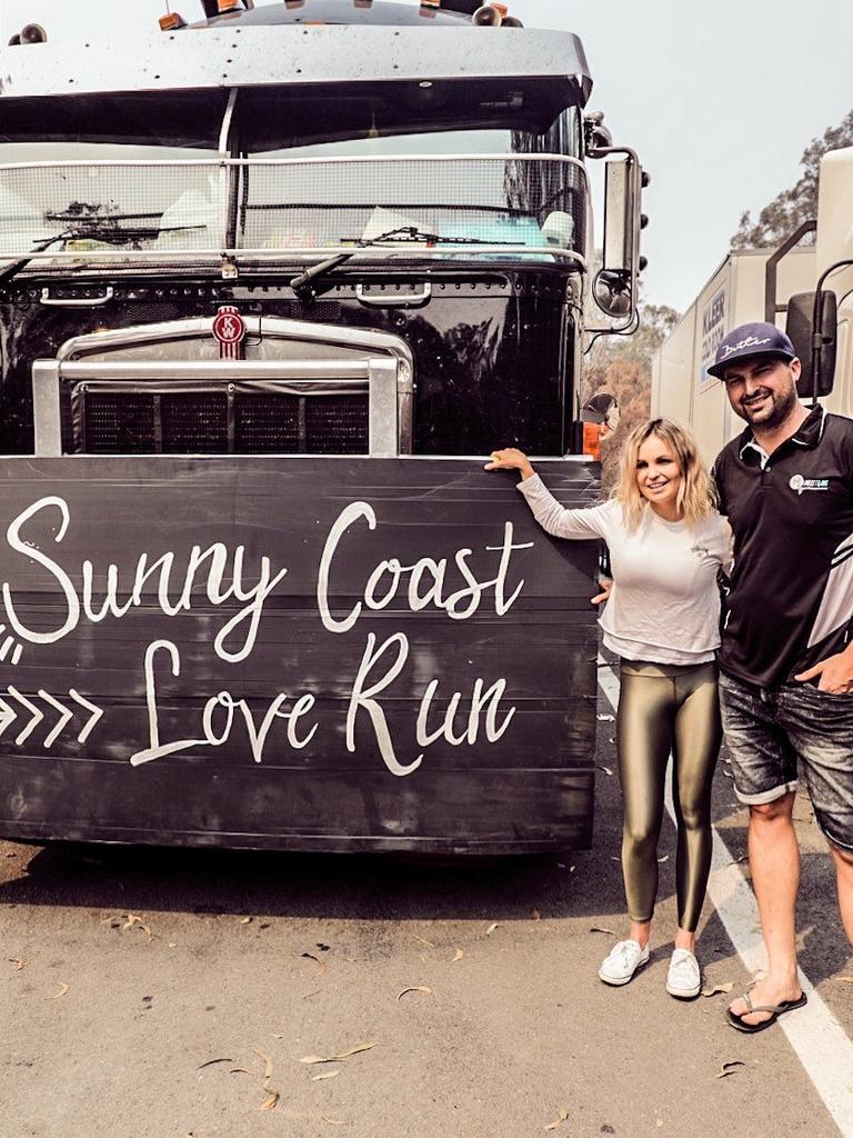 Sunny Coast Love Run organisers Zemma and Matt Butler.